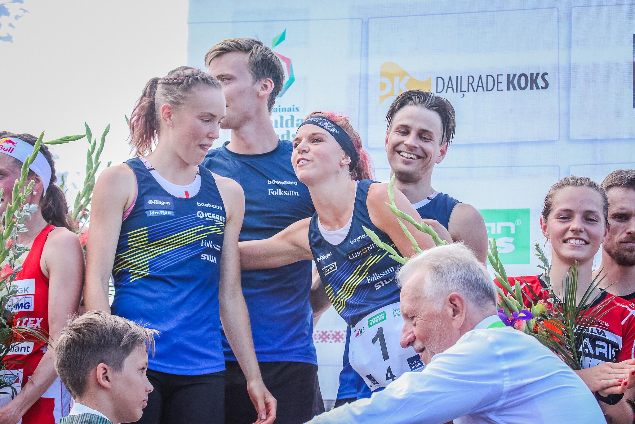 Швеция -победител в спринтовата щафета на световното първенство по ориентиране 2018