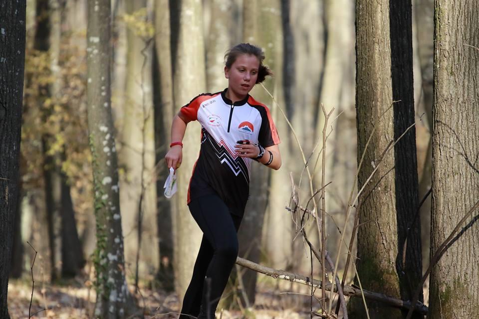 Рая Дианова от Вариант 5 Търговище на състезанието за купа Мисионис 2018