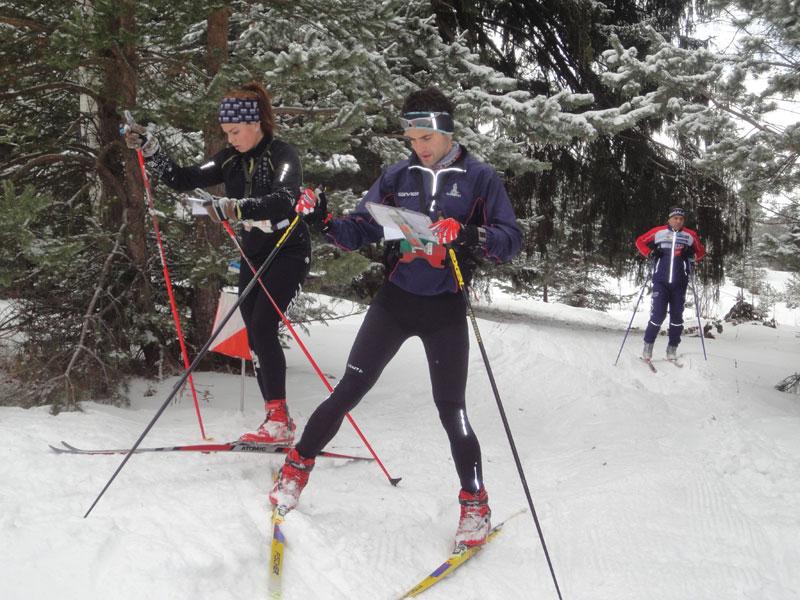 Андрей Абаджиев, илюстративна снимка за ски ориентиране