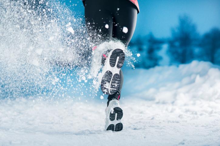 Илюстративна снимка за бягане в сняг