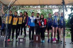 Награждаване 21 елит на спринтова щафета на ДП 20-21 2019
