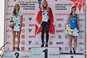 Сребърен медал на Ясна Петрова на EYOC 2019