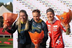 Награждаване на Лина Странд, Туве Александершон и Симона Аеберсолд
