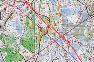 Карта - тренивровка за раздеяне на отсечка и атака не междинни точки