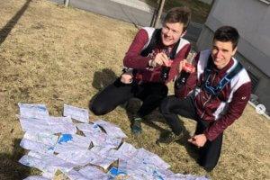 Ерик Камструп Ховин и Боян Блумщейн преди опита за рекорд