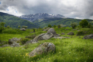 Панорамна гледка към Витоша