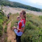 Ясна Петрова на лагера на НО в Ахтопол