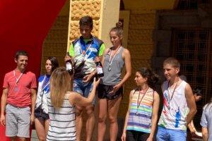 награждаване мъже и жени 21 елит спринт Сливен