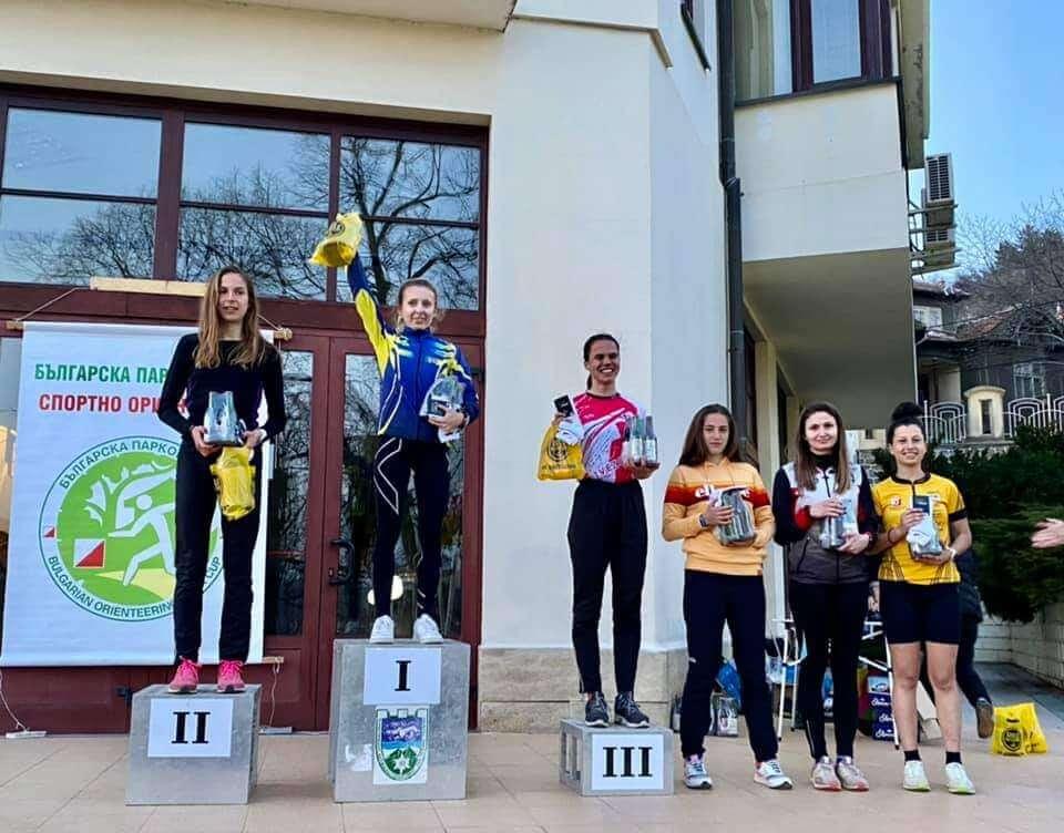 Награждаване нокаут спринт - жени